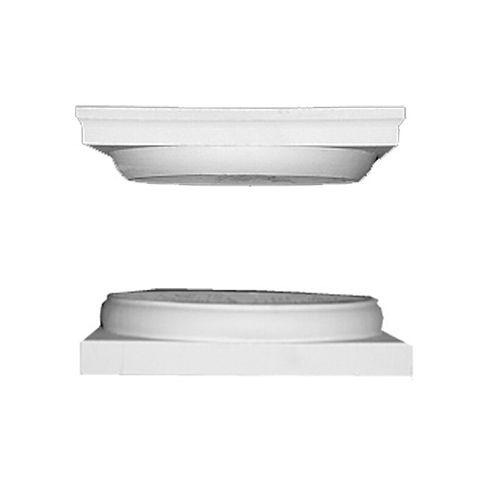 Fiberglass Cap and Base for 8 Inch Round Column