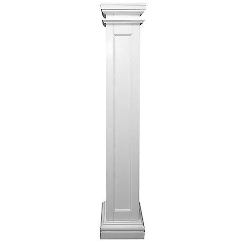Panneau Encastre Carré en fibre de verre 8 po x 8 po x 8 pi