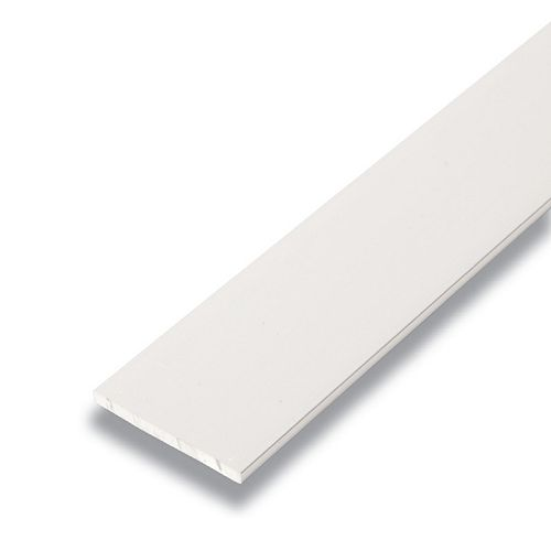 Metal Flat Bar Satin Clear 1/8 In. x 1-1/2 In. x 8 Ft.