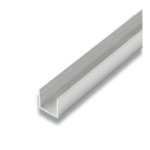 Metal Canal Aluminium 3/4 po x 3/4 po x 8 pieds