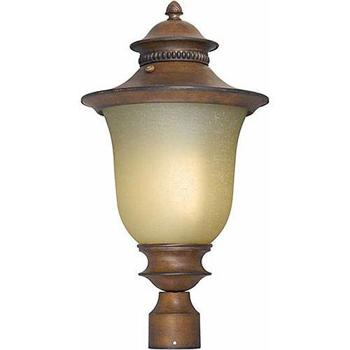pilier monture lumière avec abat-jour de spécialité finition de spécialité