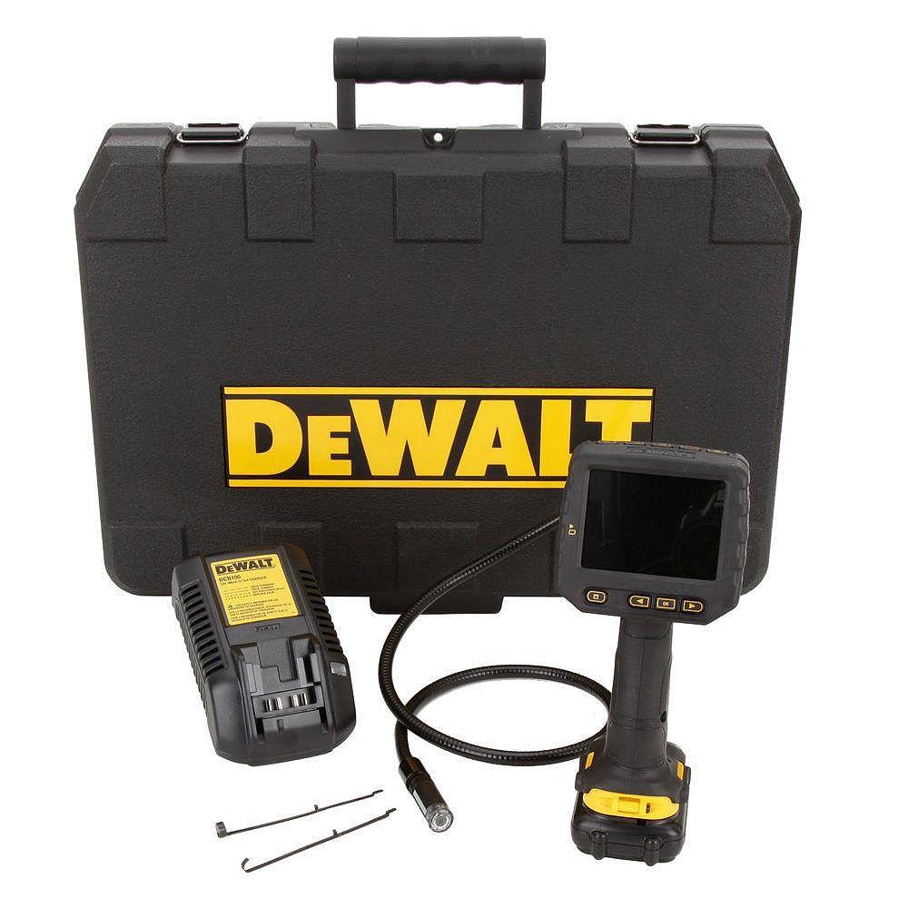 DEWALT Ensemble de caméra d'inspection 12V MAX de 17mm avec 1pile et coffret