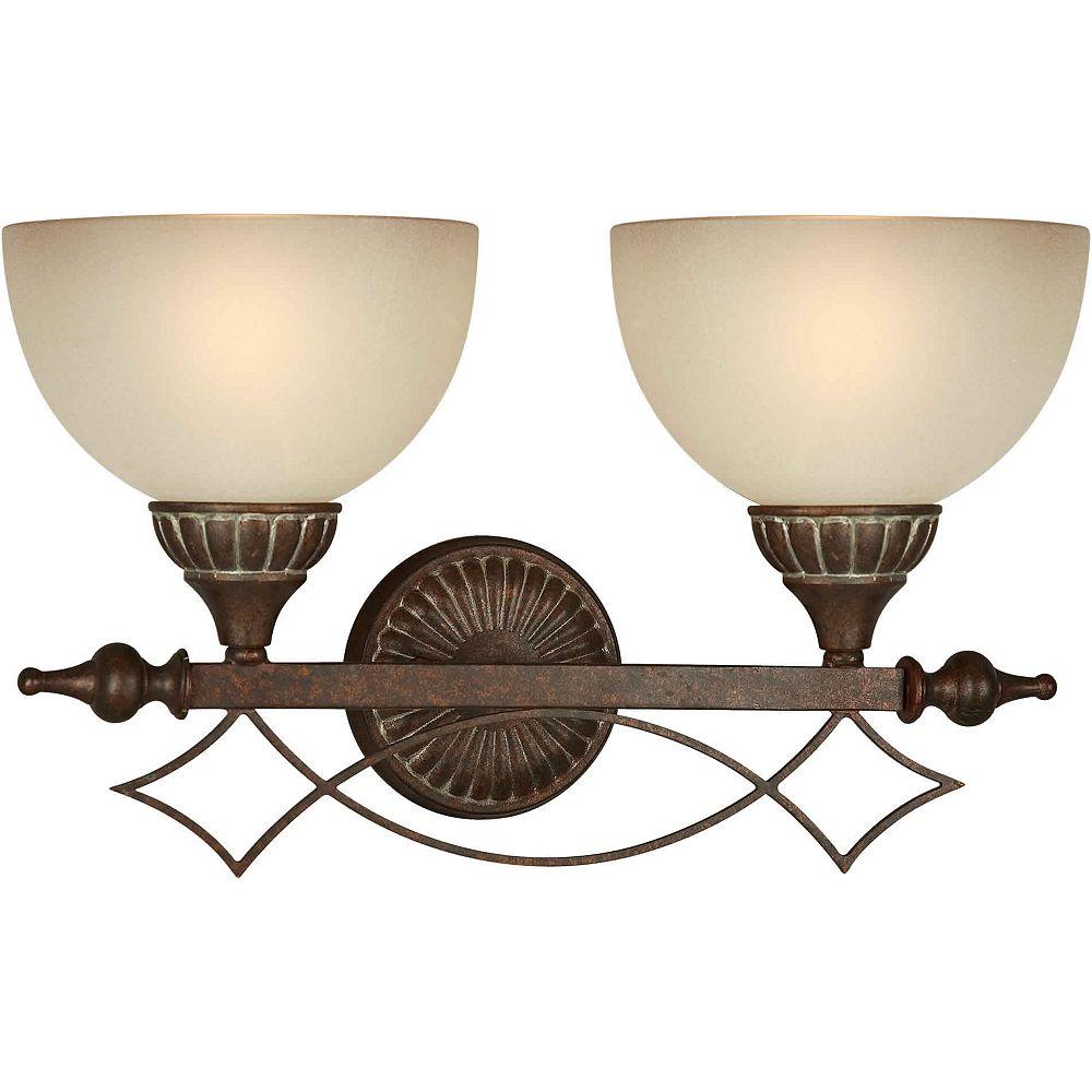 Filament Design lumière fixée au mur avec abat-jour de spécialité couleur en noir
