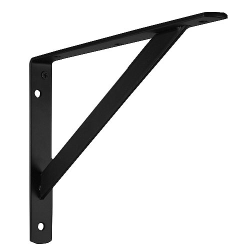 12-inch Heavy Duty Bracket in Black