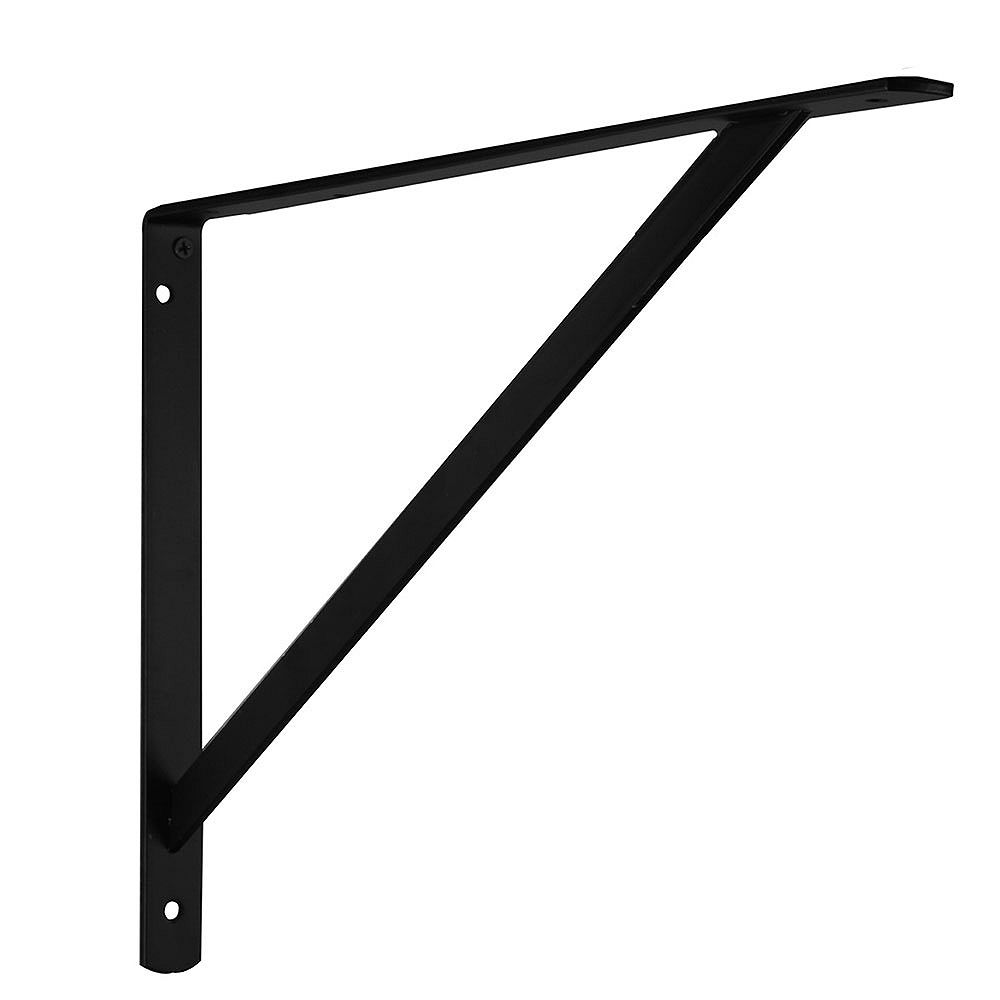 Everbilt Support ultrarésistant, 20 po, Noir