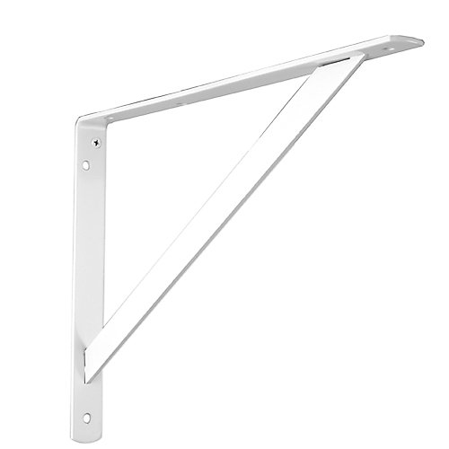 Support ultra-robuste 16'' Everbilt blanc