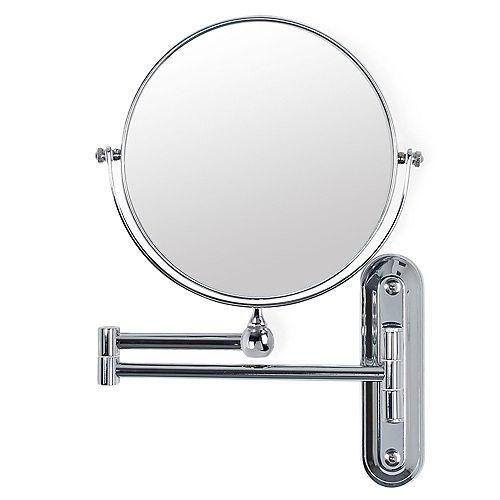 Valet 8 inch Mirror Chrome