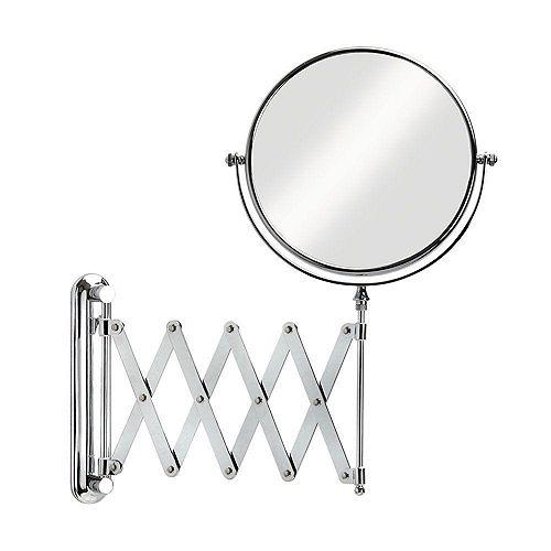 Miroir mural Vantage de 20 sm (8 po); grossit 5 fois