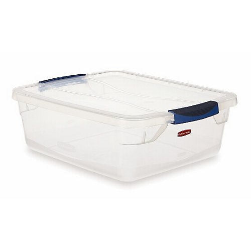Clair Contenant Rubbermaid Clever Store, 14.2L