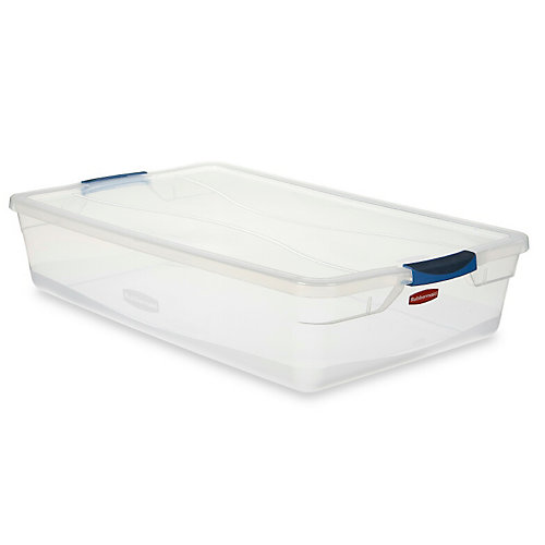 Clair Contenant Rubbermaid Clever Store, 38.8L