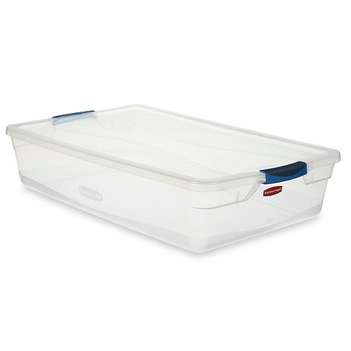 38.8L Clear Clever Store Tote