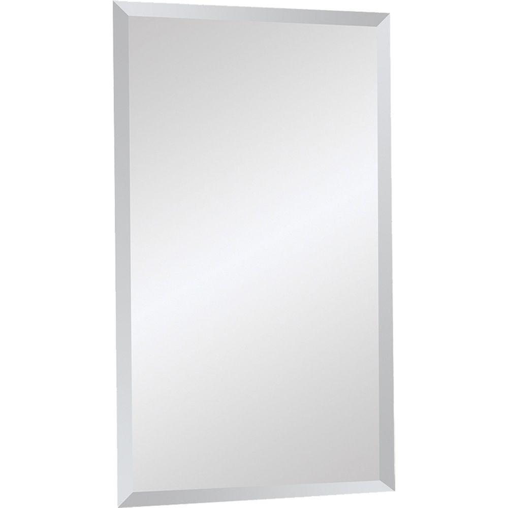 Notre Dame Design 20-inch x 34-inch Frameless Glass Mirror