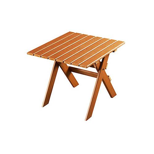 table dextrémité Adirondack-cèdre