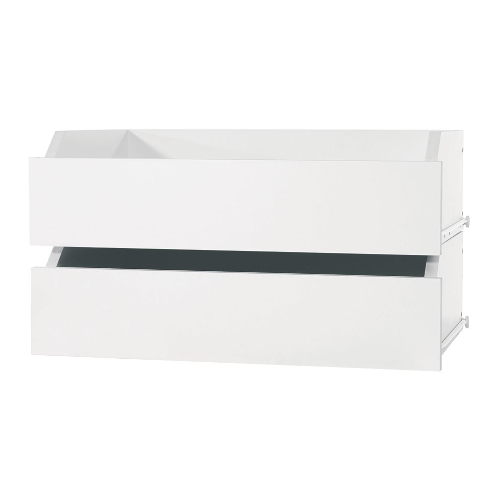Perfect Home Essentials Wide Drawers - (2-Pack)