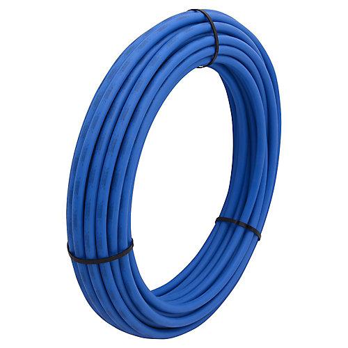 Tuyau superpex, 1/2 po x 100 pi, rouleau bleu