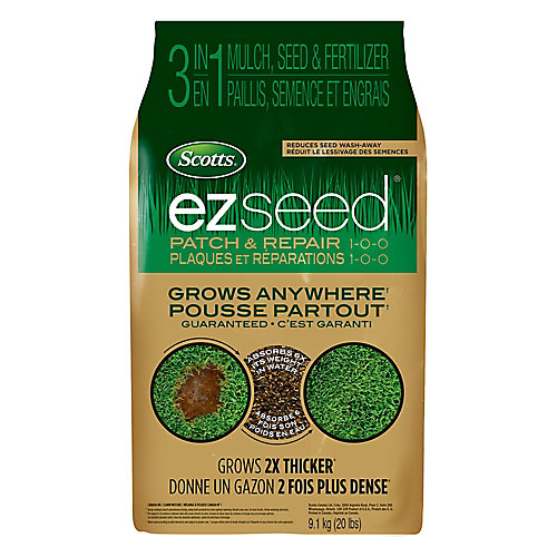 Turf Builder EZ Seed plaques et reparations 1-0-0 - 9.09 kg