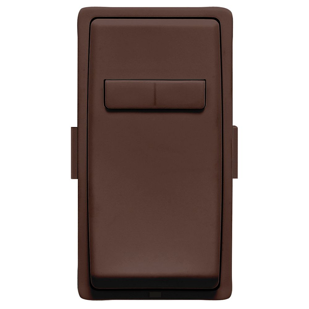 Leviton Renu Face Plate for Coordinating Dimmer Remote (Wallplate not Included) in Walnut Bark