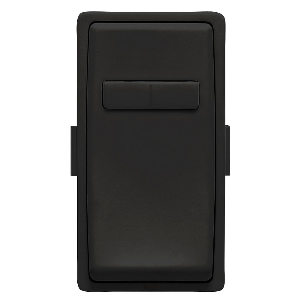 Leviton Renu Face Plate for Coordinating Dimmer Remote (Wallplate not Included) in Onyx Black
