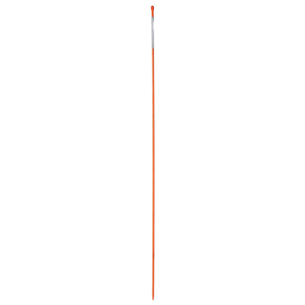 Nuvue Products Nuvue Products Driveway Marker 46 117cm Bright Orange Fibreglass Reflec The Home Depot Canada
