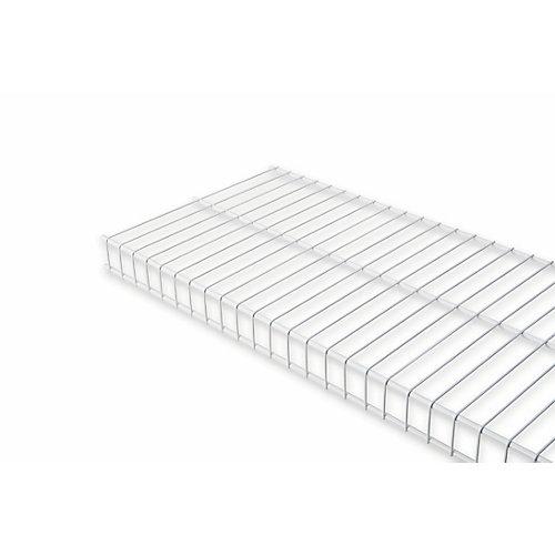 12 Inch X 6ft White Linen Shelf