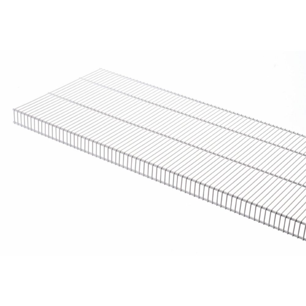 Rubbermaid TightMesh 20-inch x 4 ft. Wire Shelf in White