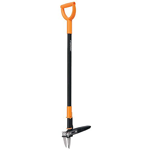 Fiskars Fiskars D-handle Stand-up Weeder (3-claw)