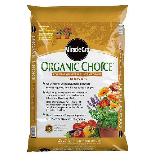 28.3L Organic Choice Potting Mix