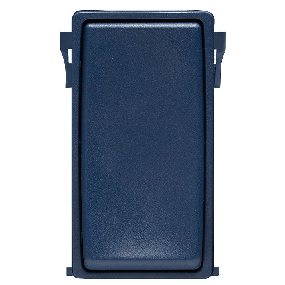 Leviton Renu Face Plate for Switch (Wallplate not Included) in Rich Navy