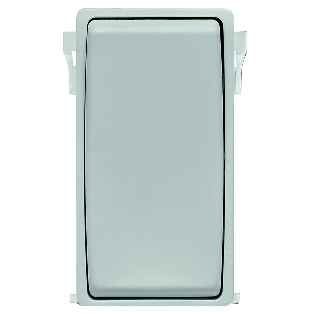 Leviton Renu Face Plate for Switch (Wallplate not Included) in Sea Spray