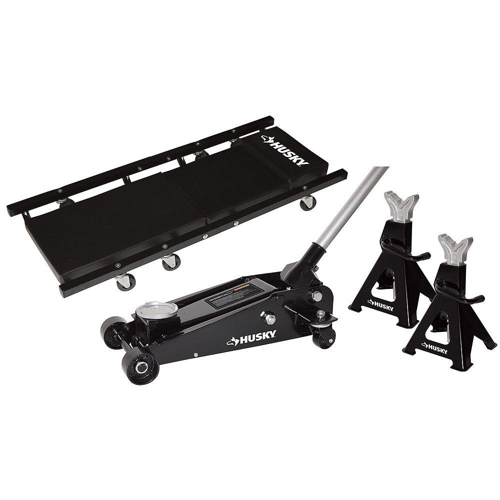 Husky 3 Ton Garage Jack Kit