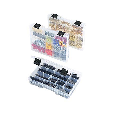 3-Pack 11-inch Parts Bin Organizer