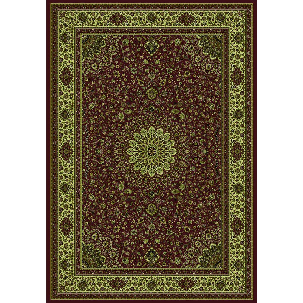 Springs Home Catherine Brown 7 ft. 10-inch x 10 ft. 10-inch Rectangular Area Rug