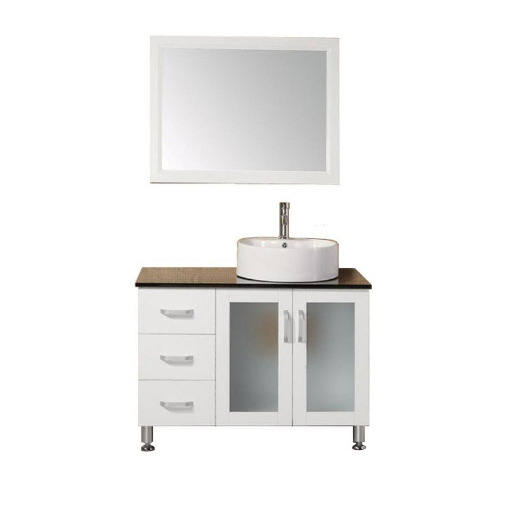 Design Element Malibu 39-inch W Vanity in White