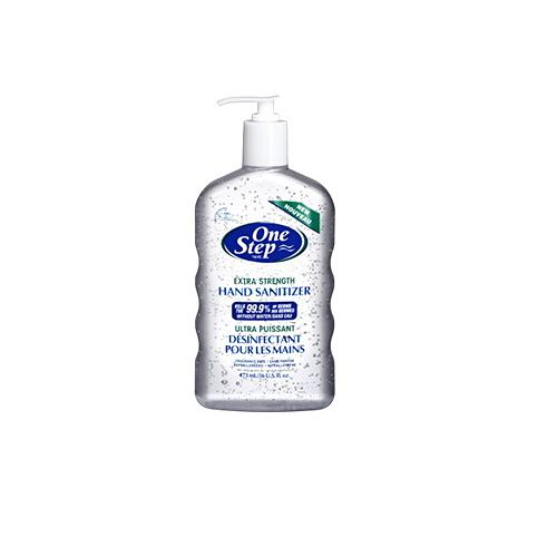 Extra Strength Hand Sanitizer  Enriched with Moisturizing Aloe Vera.