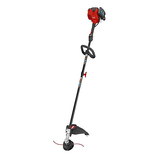 18-inch 25.4cc Gas Powered 2-Cycle Straight Shaft Trimmer