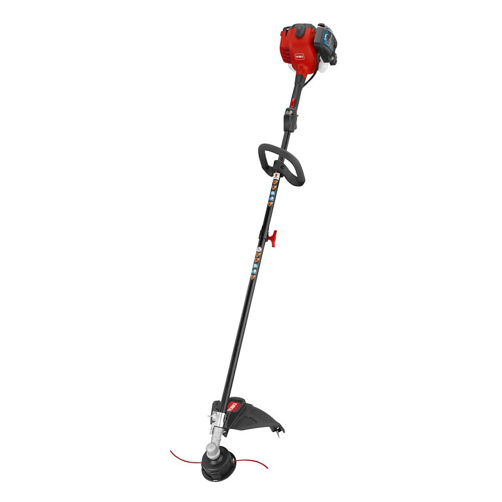 Toro 18-inch 25.4cc Gas Powered 2-Cycle Straight Shaft Trimmer