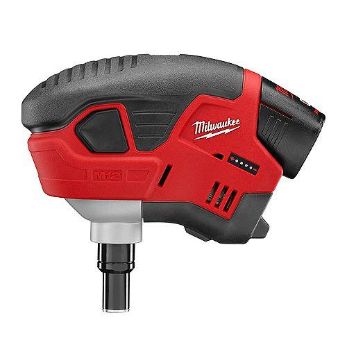 Milwaukee Tool M12 Cordless Lithium-Ion Palm Nailer Kit