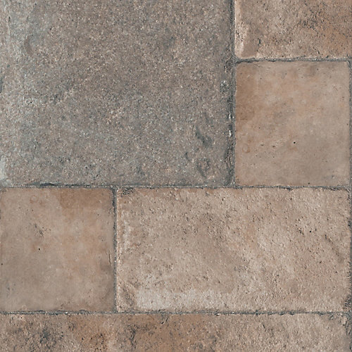 8mm Thick Tuscan Stone Bronze Laminate Flooring (Sample)
