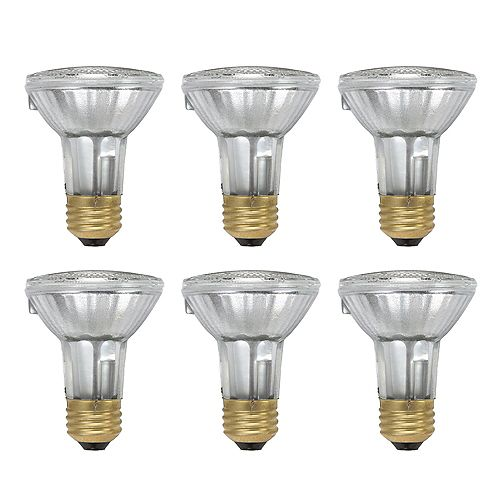 Philips 50W  PAR20 Halogen Light Bulb (6-pack)