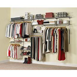 Configurations 6 ft. to 10 ft. Custom Closet Kit