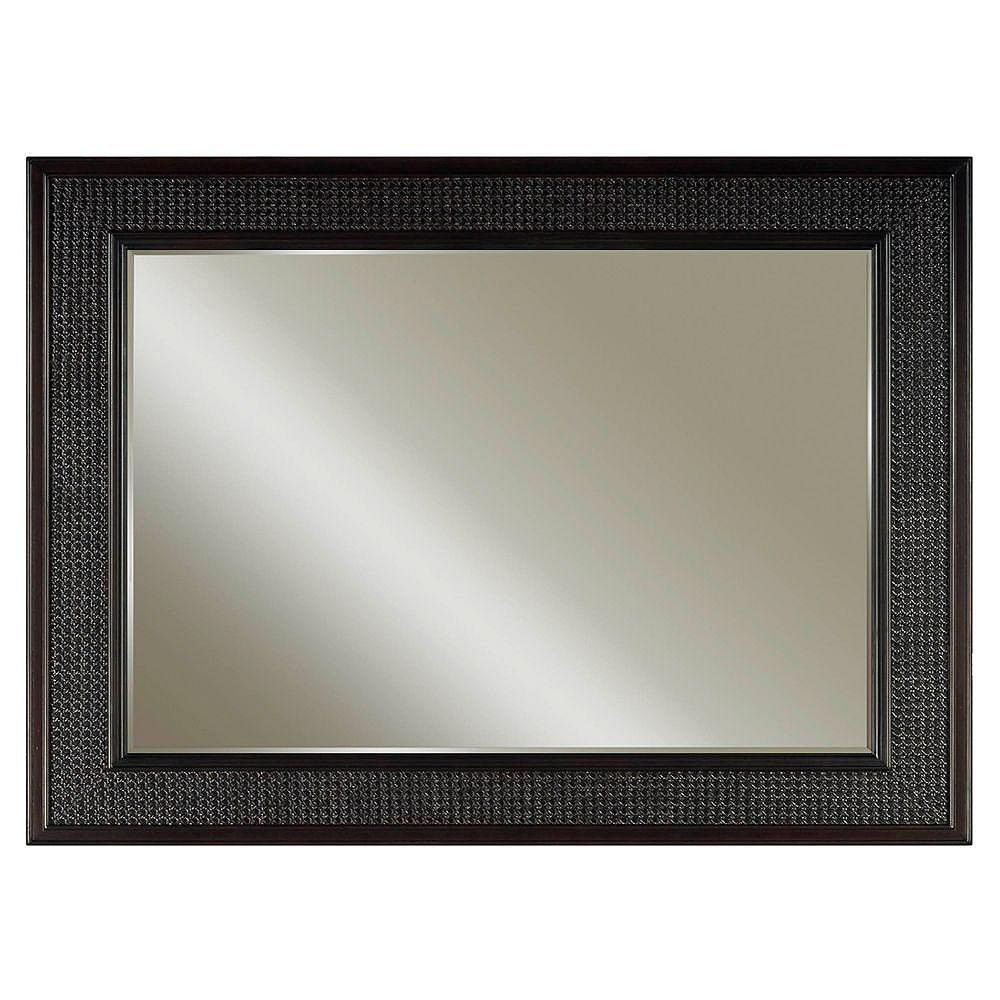 Water Creation London 36-inch L x 60-inch W Single Wall Mirror in Espresso