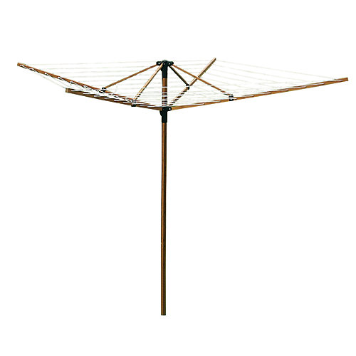 Deluxe Bamboo Fold-Away Clothesline