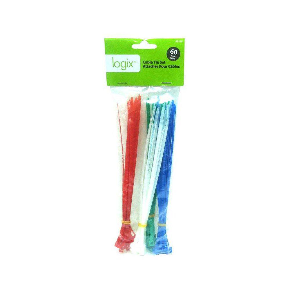 Logix 60pc Cable Tie Set