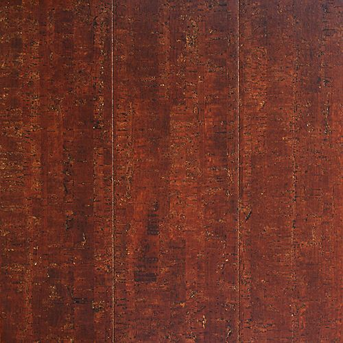 Spiceberry 13/32-inch Thick x 5 1/2-inch W x 35 5/8-inch L Cork Flooring (10.92 sq. ft. / case)