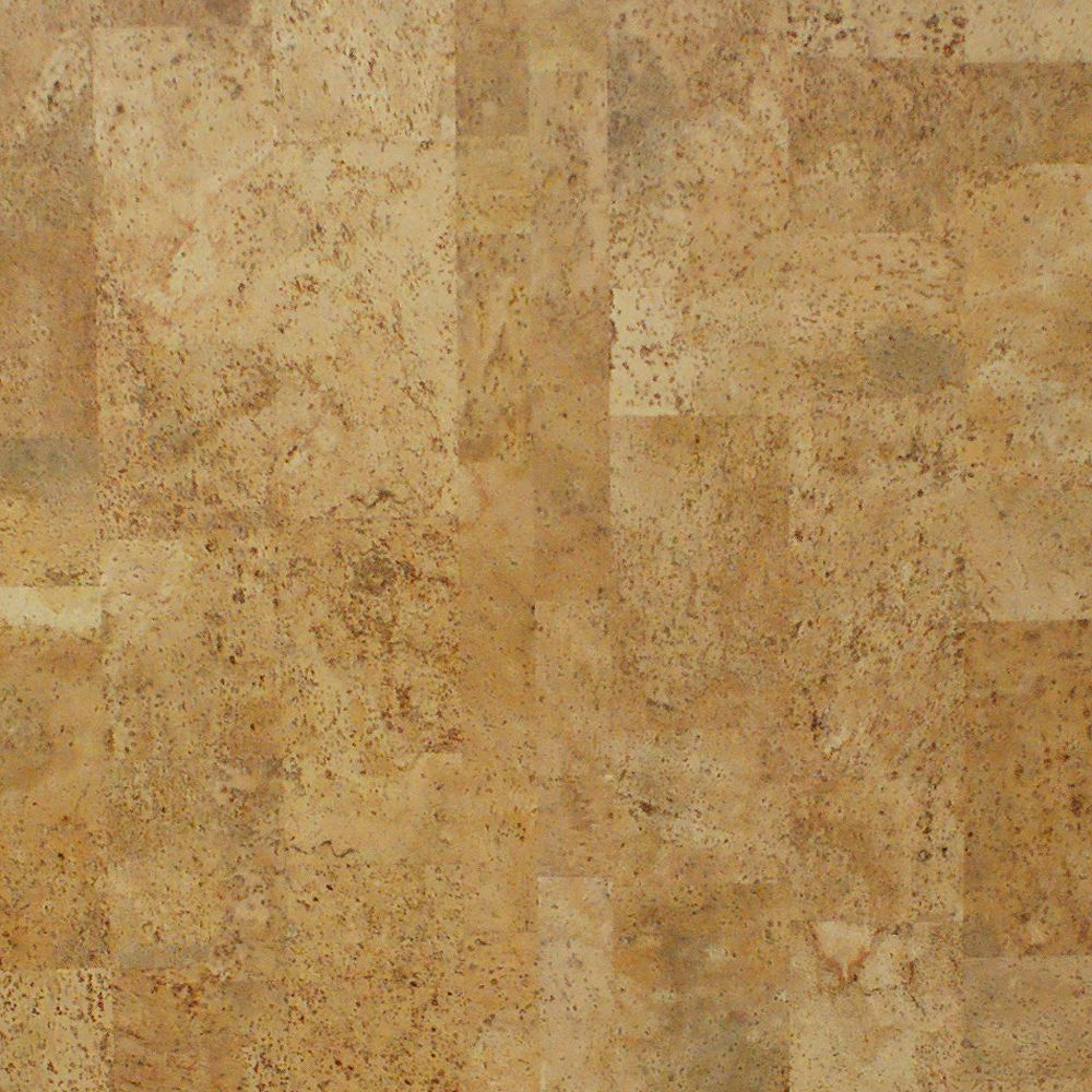QEP Cobblestone 13/32-inch Thick x 5 1/2-inch W x 35 5/8-inch L Cork Flooring (10.92 sq. ft. / case)