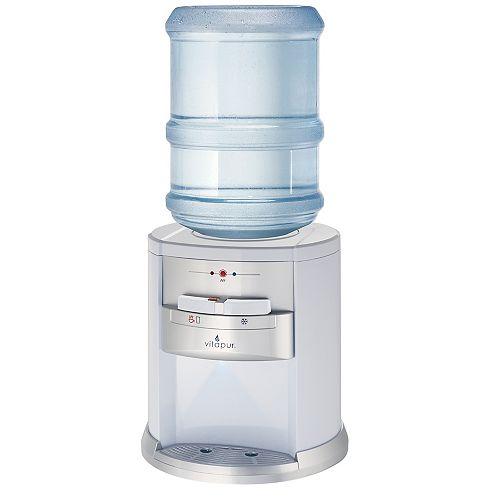 Vitapur Comptoir distributeur d'eau, Noir et l'acier inoxydable