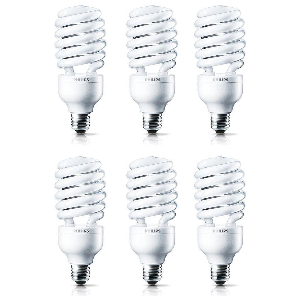 Philips CFL 42W = 150W Twister Daylight (6500K) - Case of 6 Bulbs