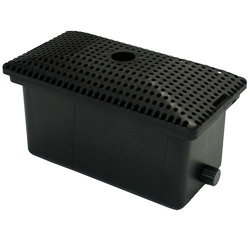 Pond Filter Box 600, 5 Stage Mechanical and Biological Filters, For Pumps up to 1250gph