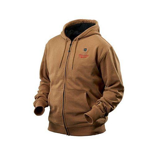 Ensemble de veste chauffante à capuchon sans fil kaki M12  - grand