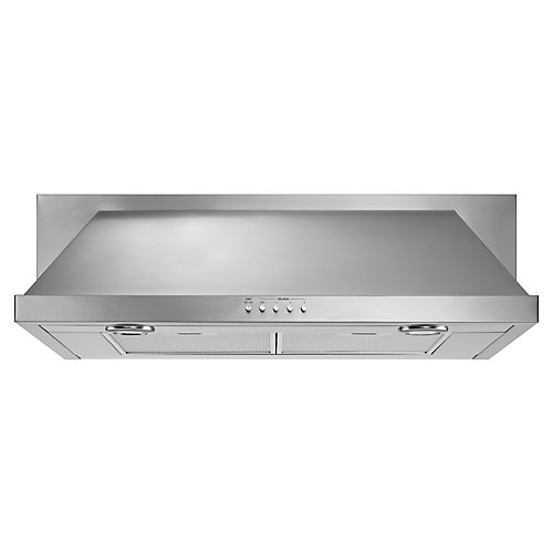 30-inch, 400 CFM Convertible Under Cabinet Range Hood in Stainless Steel